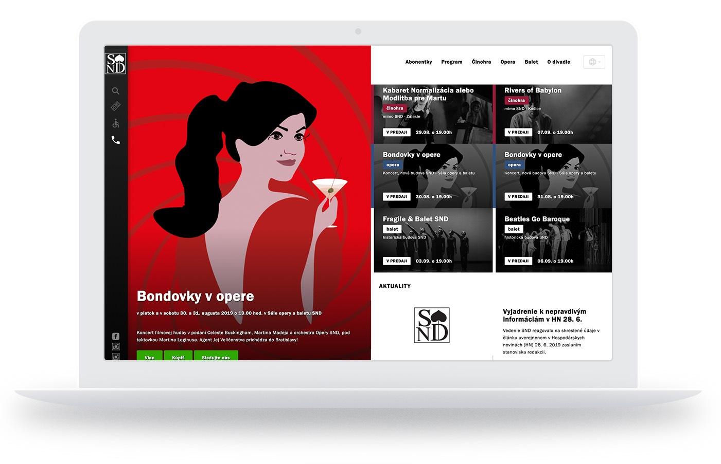 SND screen