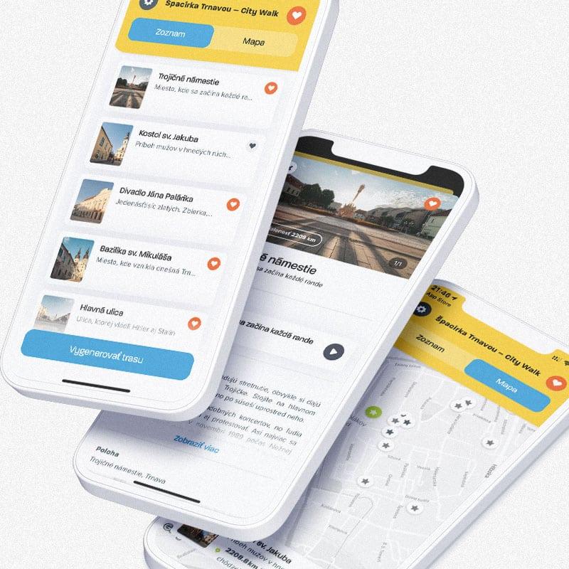 vývoj mobilných aplikácií